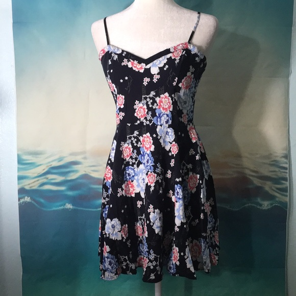 33dfbef8c7 Cotton On Dresses | Asian Print Floral Summer Dress 15 | Poshmark